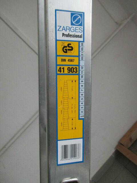 Günzburger Aluminium Glasreinigerleiter Fensterputzleiter Einzelteile