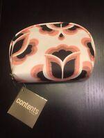 Contents By Allegro Travel Makeup Bag - Floral Design