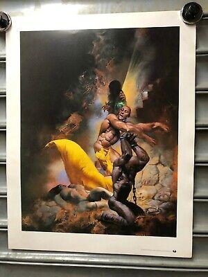 "RICHARD CORBEN 19 x 24/"" 1993 poster Tundra classic x 3  WHOLESALE"