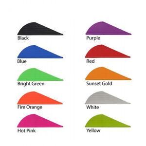 Arrows & Parts Aae Hybrid Hp Vanes Hot Pink 100 Pack
