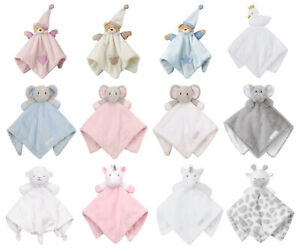Baby Girls Soft Pink Owl Baby Comforter and  Snuggle Blanket Gift