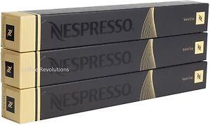 30 new nespresso vanilio pods capsules variations range uk - Range capsule nespresso mural ...