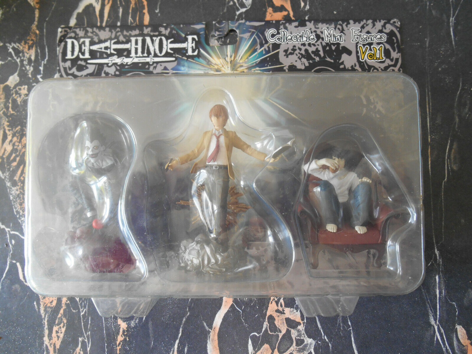 Figurine death note Figura collectible mini Figuras vol 1 jun planning-shonen