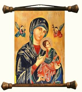 Religion-Mary-Handmade-Oil-Painting-Picture-Oil-Frame-Pictures-G01557