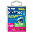 Piksters Interdental Brush, Size 6, Green - 40 Pack