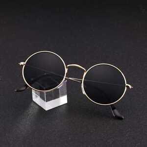 Unisex-Vintage-Retro-Women-Men-Glasses-Circle-Resin-Lens-Sunglasses-Fashion