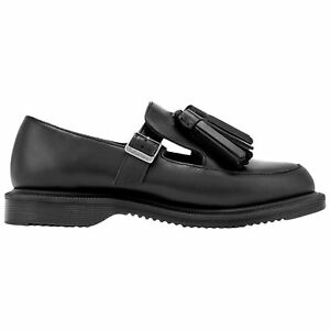 Dr.Martens Gracia Brando Leather Casual T-Bar Tassel Loafer Womens ... b83a6db4a0