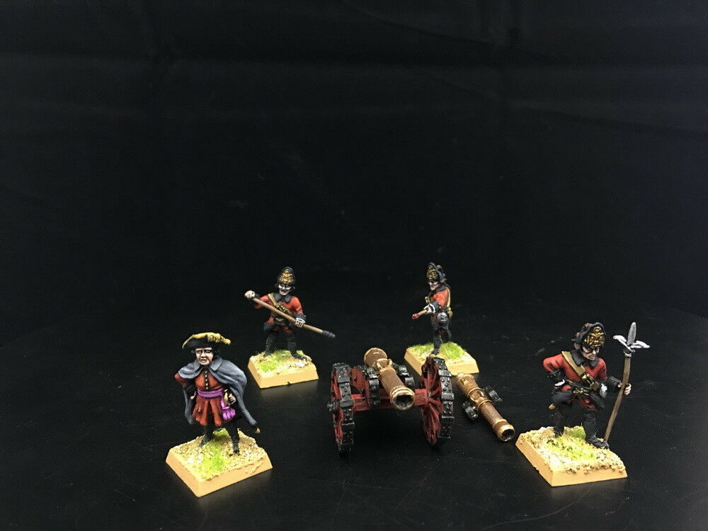 1 56 28mm Seven Years War DPS Painted Russia Foot Aritllery  GH853