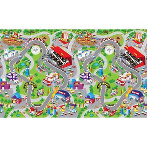 Children 039 S Play Mat Race Track