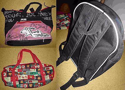 Tasche, Handtasche, Umhängebeutel, Rucksack, 3 Taschen