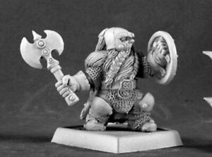 Reaper-Minatures-14554-Kragmarr-Dwarf-Captain-Warlord