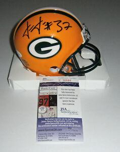 PACKERS-Josh-Jackson-signed-mini-helmet-w-37-JSA-COA-AUTO-Autographed-ROOKIE