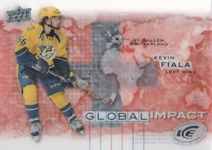 2015-16-Upper-Deck-Ice-Global-Impact-GI-KF-Kevin-Fiala-Nashville-Predators