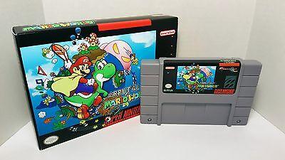 Brutal Mario World / Super Kitiku Mario - SNES English NTSC SMW ROM hack    eBay