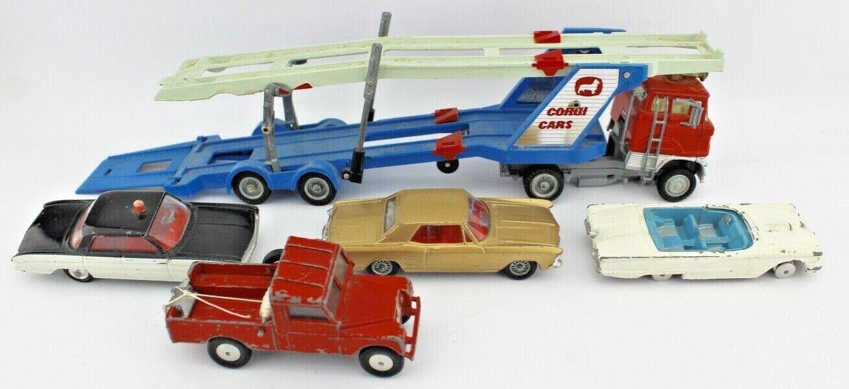 Partidas 5 unidades corgi toys modelo coche coches Ford buick Land Rover Super 88 camiones
