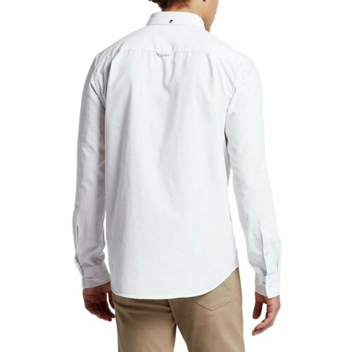 Hurley Men/'s One and Only 3.0 Button Front Long Sleeve Shirt