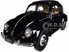 1950 VOLKSWAGEN CLASSIC OLD BEETLE SPLIT WINDOW BLACK 1/18 BY WELLY 18040