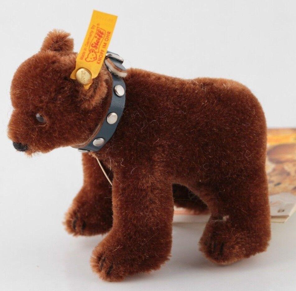 Steiff bears Mini braun Mohair cub bear-Ean 031199 New 13 cm