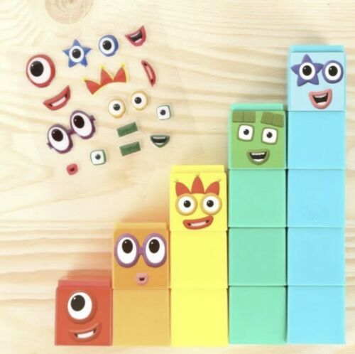 Great Numberblocks Cbeebies MAGAZINE 1-5 /& 6-10 Jouet numéro Blocks