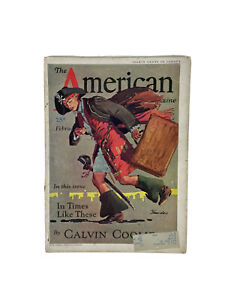 Vintage 1932 The American Magazine February w/ Ads