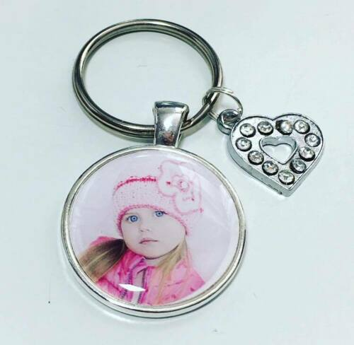 Personalised photo keyring Mothers Day gifts Fathers Day gifts Birthday gifts