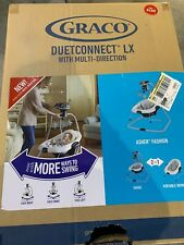 Graco DuetConnect LX Multi-Direction Baby Swing and Bouncer Open Box