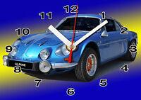 Horloge Murale Alpine A110 Bleu -01