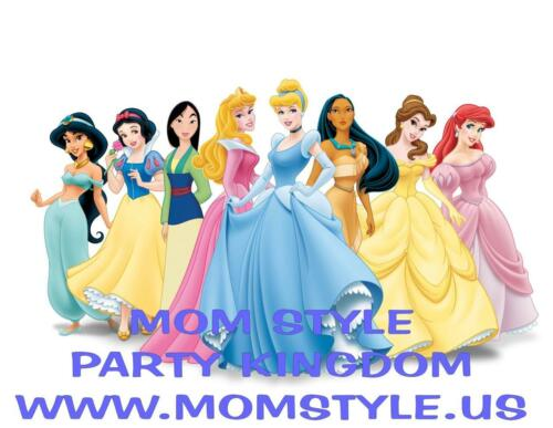 Princesses Iron-on Transfer for white T-shirt # 2