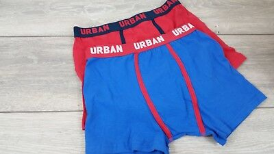 Nero a Righe 6 X MEN/'S Chiusura a Bottone Boxer Trunks Comfort Fit Intimo