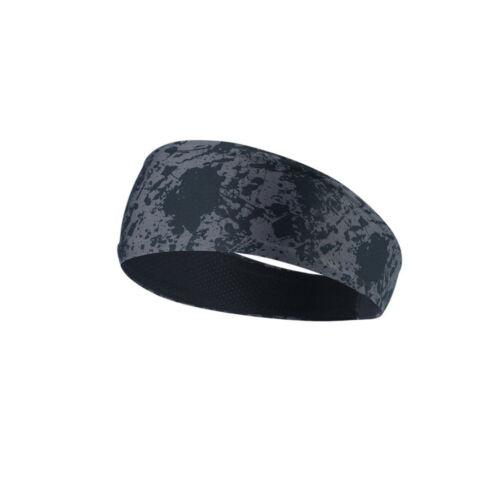 Men Women Sport Sweat Headband Elastic Sweatband Hair Bands for Running Gym Yoga