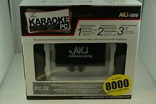 Karaoke PC, Microphone, Karaoke Recording - 8000 Songs English/ Spanish, espanol