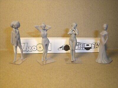 4  FIGURINES  1//43  SET 412  LES  FEMMES  DE  LA  NUIT  VROOM  FOR  SPARK  NOREV