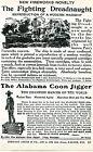 1926 Print Ad Alabama Coon Jigger Mechanical Toy Black Americana & Dreadnaught
