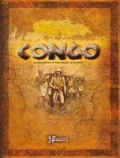 CONGO - RULES - STUDIO TOMAHAWK - SENT FIRST CLASS