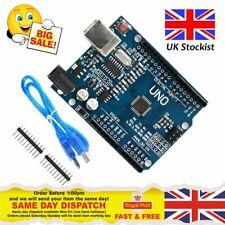 Arduino Uno R3 Rev3 ATMEGA328P Compatible Board FREE USB CABLE & Pins