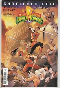 Mighty-Morphin-Power-Rangers-27-Shattered-Grid-Boom-comic-1st-Print-2018-NM