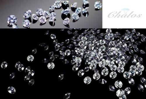 Lote de 1 monitores CRT redondo Natural suelto diamantes corte simple chatarra de Lujo Marrón 2.00mm