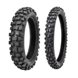 Tusk Dsport Adventure Dual Sport Dot Tire Combo 130 90x17 68r 90 90x21 54r Ebay