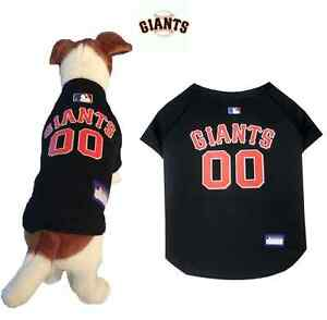 check out f4379 64bda Details about MLB Pet Fan Gear SAN FRANCISCO GIANTS Dog Jersey Shirt for  Dogs BIG SIZE XS-2XL