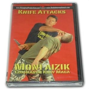 Moni-Aizik-Aizac-Knife-Attacks-Israeli-Krav-Maga-DVD-weapons-empty-hand-training