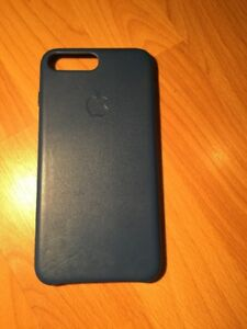 iphone 7 navy leather case