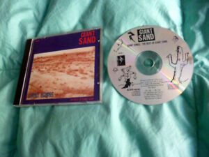 CD Giant Sand - Giant Songs The Best of Greatest Hits Collection 1986 Howe Gelb