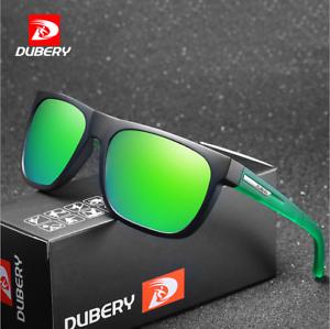 Fishing DUBERY Mens Polarized Sport Driving Outdoor Sunglasses Square Glasses