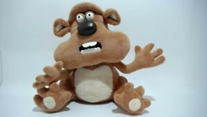 2003-Aardman-Fluffy-The-Hampster-Soft-Plush-Toy-EXC-24cm-approx