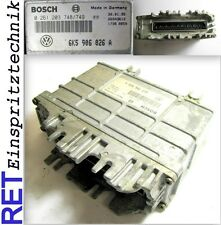 Steuergerät Motorsteuergerät BOSCH 0261203748 SEAT Ibiza 1,4 6K5906026A