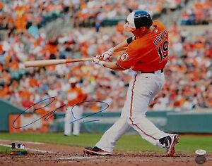 Chris-Davis-Autographed-16x20-Orioles-Swinging-Photo-JSA-W-Authenticated