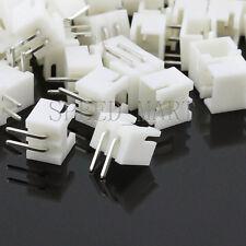 10pcs Xh254 2pin Pitch Leads Header Socket Connector Dip 90 Degree Angle Pcb