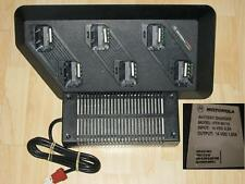 Motorola Charger x6 for GP300 GP600 etc 100% ok Ladegerät fur GP 300