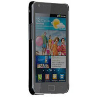 Samsung Galaxy S Ii (at&t Version) Barely There Brushed Aluminum Case (black)