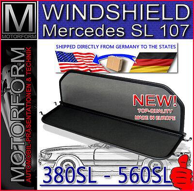 WIND DEFLECTOR BLOCKER SHIELD WINDSTOP FOR MERCEDES SL R107 1973-1989 NICE GIFT